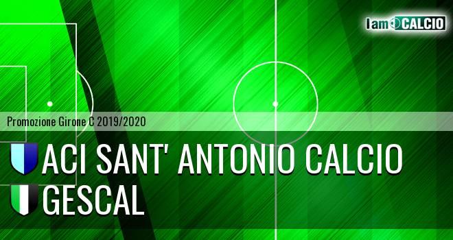 Aci Sant' Antonio Calcio - Gescal