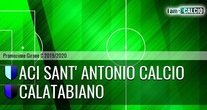 Aci Sant' Antonio Calcio - Calatabiano