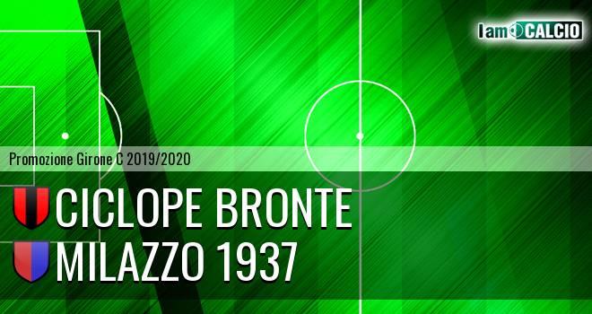 Ciclope Bronte - Milazzo 1937