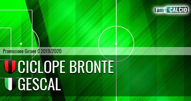 Ciclope Bronte - Gescal