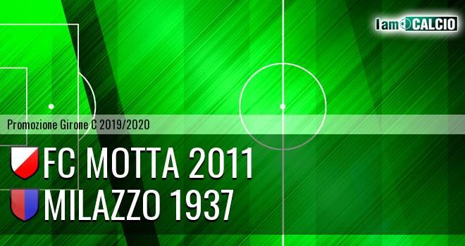 FC Motta 2011 - Milazzo 1937