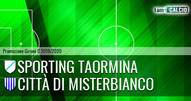 Sporting Taormina - Città di Misterbianco