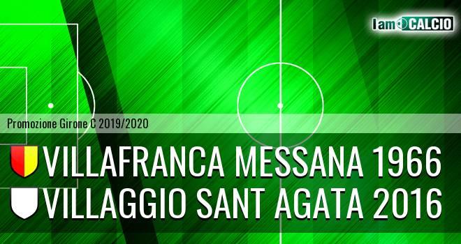 Villafranca Messana 1966 - Villaggio Sant Agata 2016
