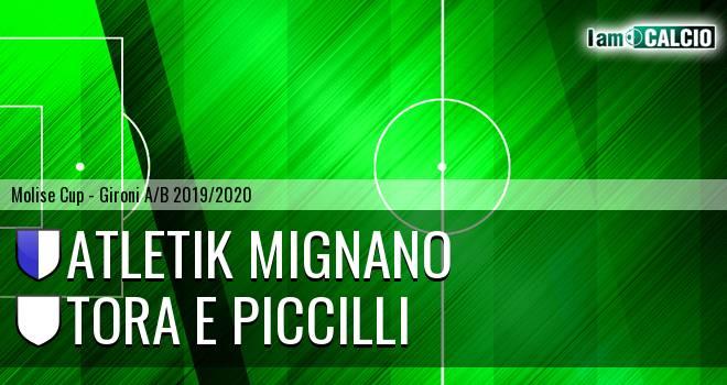 Atletik Mignano - Tora e Piccilli