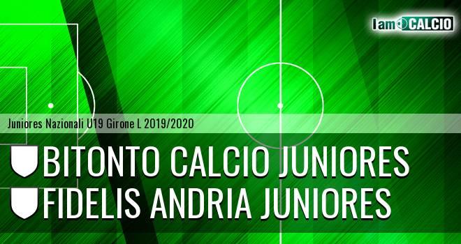 Bitonto Calcio Juniores - Fidelis Andria Juniores