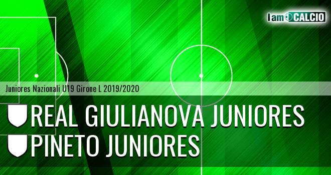 Real Giulianova Juniores - Pineto Juniores