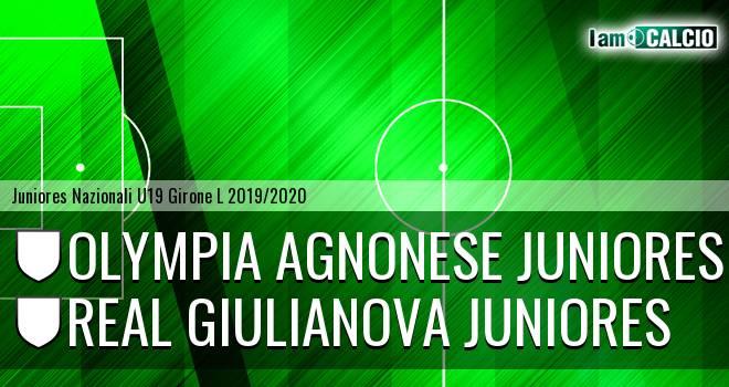 Olympia Agnonese Juniores - Real Giulianova Juniores