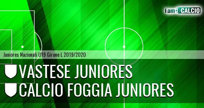 Vastese Juniores - Foggia Juniores