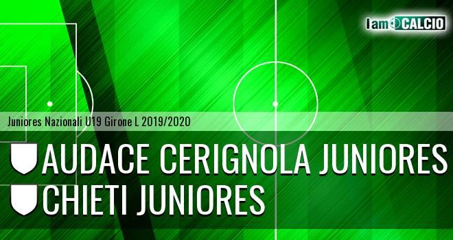 Audace Cerignola Juniores - Chieti Juniores