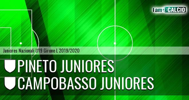 Pineto Juniores - Campobasso Juniores