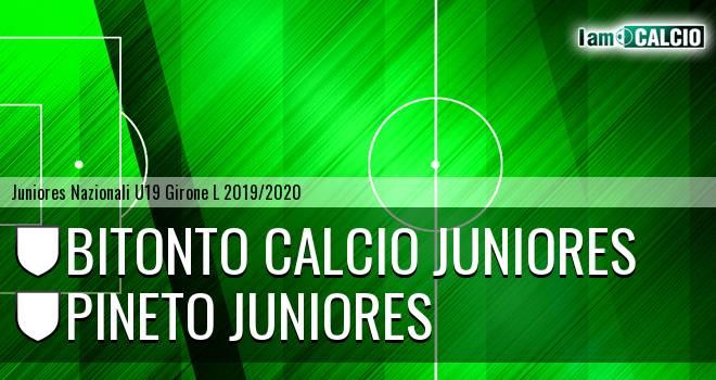 Bitonto Calcio Juniores - Pineto Juniores