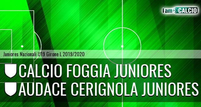Foggia Juniores - Audace Cerignola Juniores