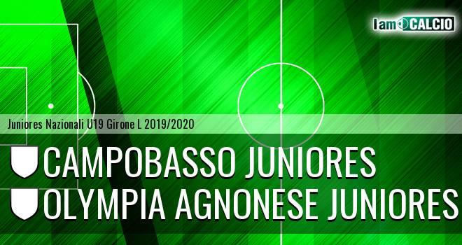Campobasso Juniores - Olympia Agnonese Juniores
