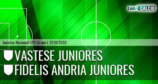 Vastese Juniores - Fidelis Andria Juniores