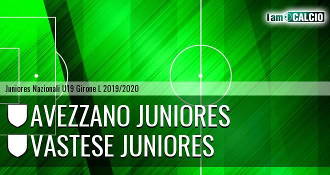 Avezzano Juniores - Vastese Juniores