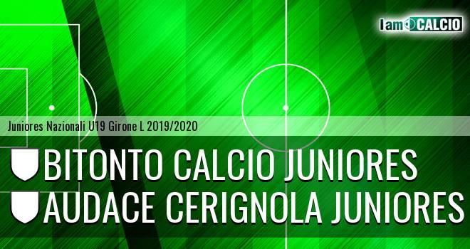 Bitonto Calcio Juniores - Audace Cerignola Juniores