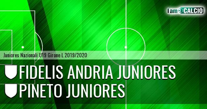 Fidelis Andria Juniores - Pineto Juniores