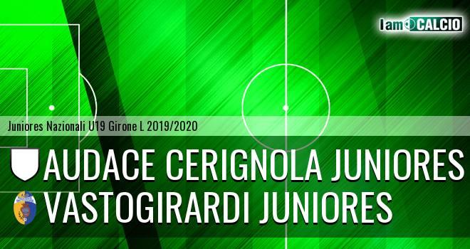 Audace Cerignola Juniores - Vastogirardi Juniores