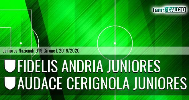 Fidelis Andria Juniores - Audace Cerignola Juniores