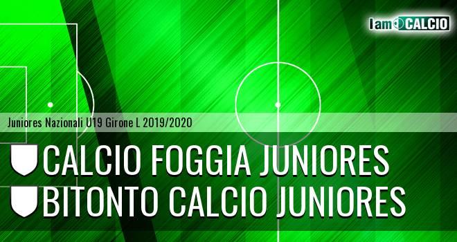 Foggia Juniores - Bitonto Calcio Juniores