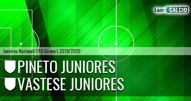 Pineto Juniores - Vastese Juniores
