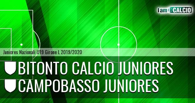Bitonto Calcio Juniores - Campobasso Juniores