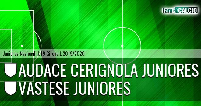 Audace Cerignola Juniores - Vastese Juniores