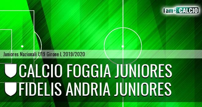 Foggia Juniores - Fidelis Andria Juniores