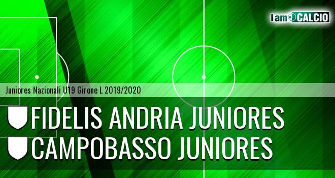 Fidelis Andria Juniores - Campobasso Juniores