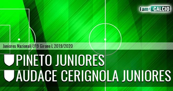 Pineto Juniores - Audace Cerignola Juniores