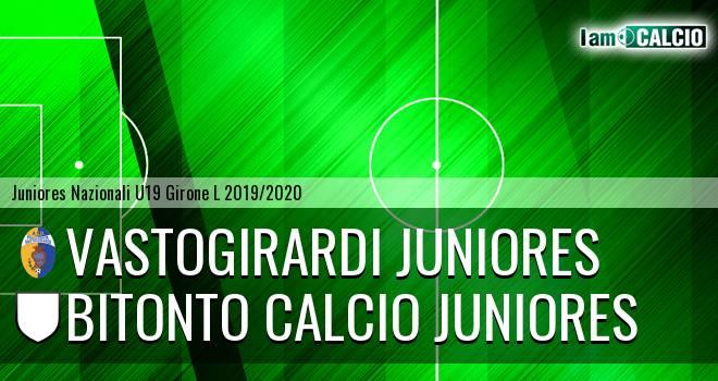 Vastogirardi Juniores - Bitonto Calcio Juniores
