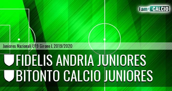 Fidelis Andria Juniores - Bitonto Calcio Juniores