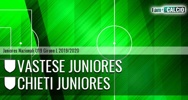 Vastese Juniores - Chieti Juniores