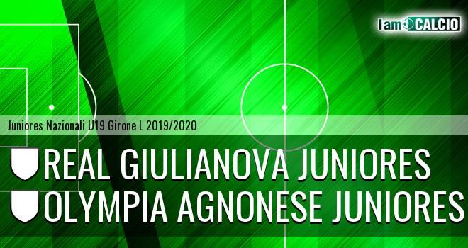 Real Giulianova Juniores - Olympia Agnonese Juniores