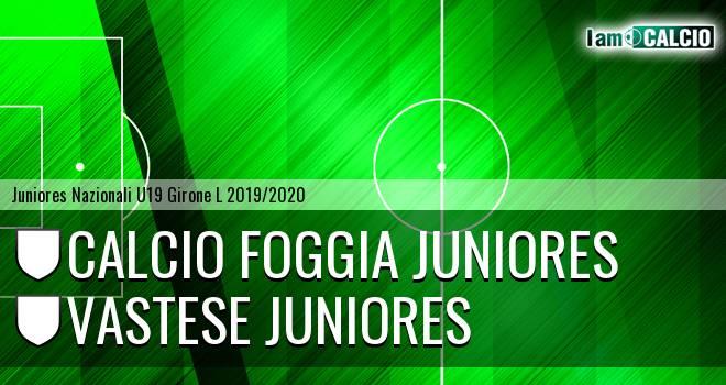 Foggia Juniores - Vastese Juniores