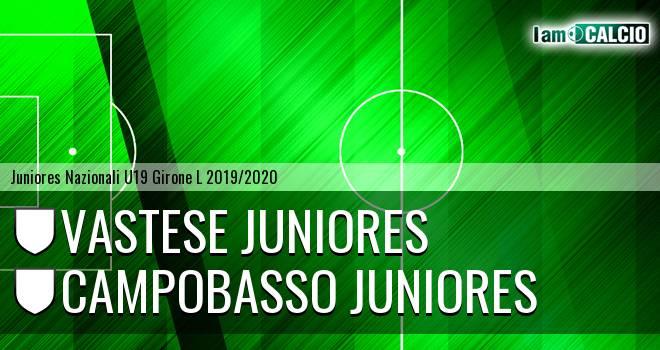 Vastese Juniores - Campobasso Juniores