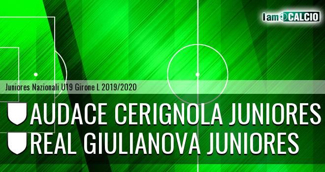 Audace Cerignola Juniores - Real Giulianova Juniores