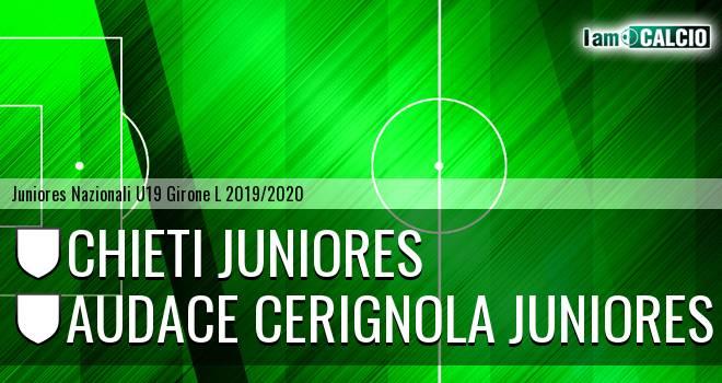 Chieti Juniores - Audace Cerignola Juniores