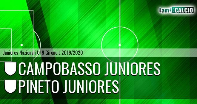 Campobasso Juniores - Pineto Juniores