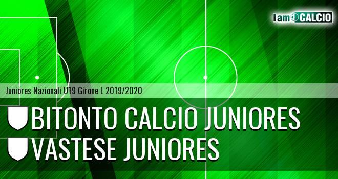 Bitonto Calcio Juniores - Vastese Juniores