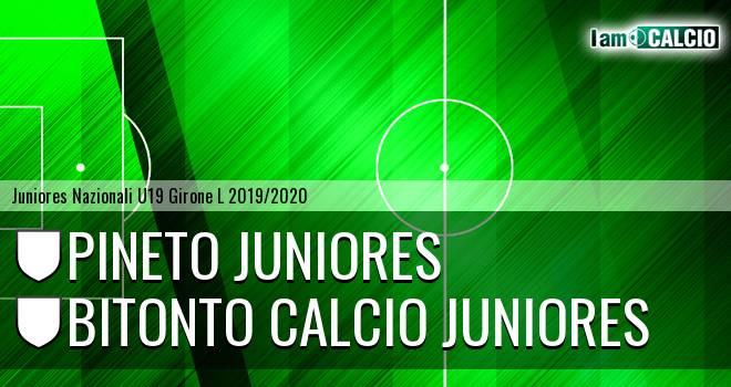 Pineto Juniores - Bitonto Calcio Juniores
