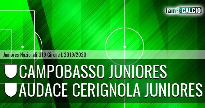 Campobasso Juniores - Audace Cerignola Juniores