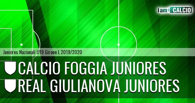 Foggia Juniores - Real Giulianova Juniores