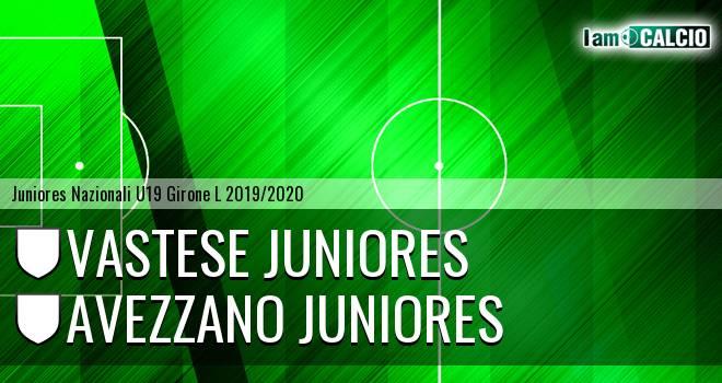 Vastese Juniores - Avezzano Juniores