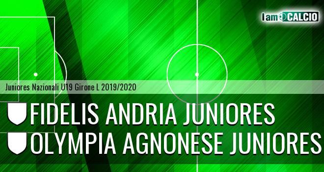 Fidelis Andria Juniores - Olympia Agnonese Juniores
