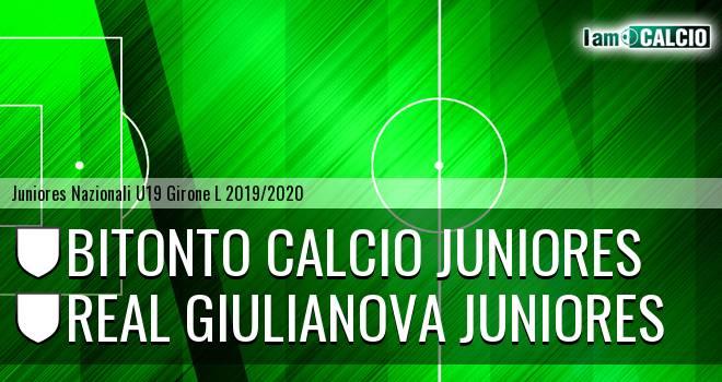 Bitonto Calcio Juniores - Real Giulianova Juniores