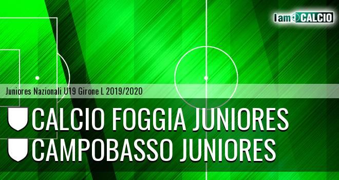 Foggia Juniores - Campobasso Juniores
