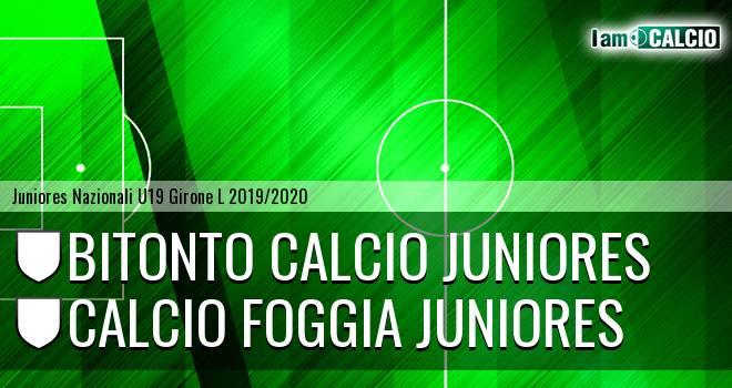 Bitonto Calcio Juniores - Foggia Juniores