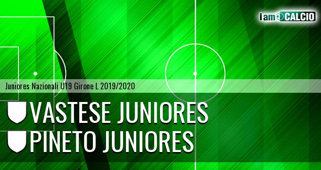 Vastese Juniores - Pineto Juniores