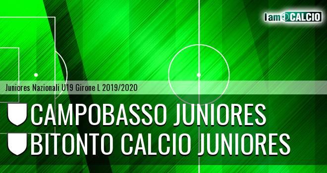 Campobasso Juniores - Bitonto Calcio Juniores